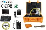 Mini câmara de vídeo para a monitoração subterrânea da inspeção do esgoto