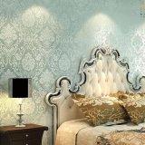 Design moderno e de venda superior de parede 3D China Barato preço papel de parede de PVC de vinil