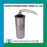 capacitor de funcionamento de alumínio Cbb65 da C.A. 130UF