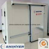 Chambre froide avec unités de réfrigération monobloc