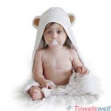 Handdoek de Met een kap van de Baby van het bamboe met Oren