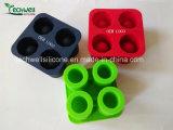 Cassetto caldo del cubo di ghiaccio del silicone di vetro di colpo del ghiaccio di vendita