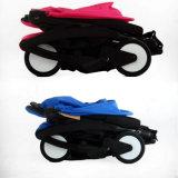 Iô-iô+ carrinho de bebé - Estrutura em preto ou branco / vermelho