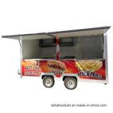 La nourriture chariot mobile, crêpe panier alimentaire, Fast Food chariot/Van/chariot/remorque