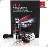 Lumière de véhicule de DEL du phare 9005 de DEL avec des ventilateurs