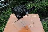 X portable et pliable en forme de barbecue