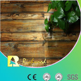 12.3mm Woodgrain-Beschaffenheits-Buche-wasserdichter lamellierter Fußboden