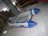 PRO Bote inflable de suelo de aluminio, barco de trabajo, bote de rescate