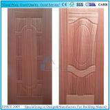 Moulé/Porte de la peau avec de contreplaqué stratifié Engineered placage de bois de teck
