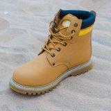 Lederne Sicherheits-Arbeitsfußbekleidung-Form-Mann-Schuhe