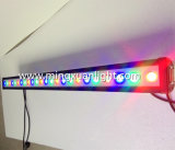Indicatore luminoso impermeabile professionale della barra della rondella LED della parete di 24PCS 3W