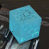 Cube LED Active Wireless Portable Mini alto-falante de som Bluetooth
