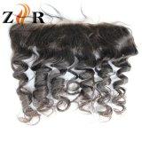 Chiusure brasiliane del Frontal del merletto dei capelli umani del merletto svizzero