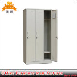 معدن أثاث لازم حديد خزانة ثوب 3 أبواب معدن خزانة خزانة