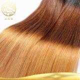 Aaaaaaaa Farben-Haar des wirkliche unverarbeitete Jungfrau-indisches gerade Ton-drei