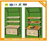 Овощ высокого качества выхода фабрики и стеллаж для выставки товаров плодоовощей