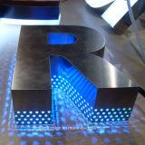 Lichtgevend Word van het Roestvrij staal van de LEIDENE Tekens van de Reclame met het Teken van het Neon