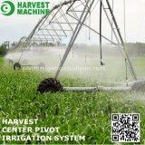 Ось Irrigator центра оборудования машинного оборудования полива фермы для Зимбабве