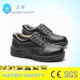 Us$5安いゴム製唯一の鋼鉄つま先の中間の版の本革の防水耐久の産業作業働く安全靴