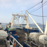 48mの船尾の傾斜路の猫エンジンを搭載するフリーズの鋼鉄漁船