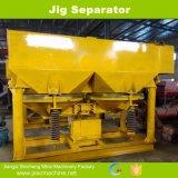 タングステン鉱山のジグの分離器