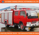 4X2 Dongfeng水泡の消火活動のトラック