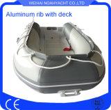 Barca di alluminio della nervatura del guscio saldata 9FT della Cina da vendere
