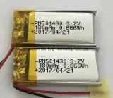 3,7 V 200mAh Batterie Li-polymère/Batterie Li-Po/ Batterie rechargeable au lithium-polymère