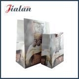 la scheda bianca 210g personalizza il sacchetto a buon mercato fatto del regalo del documento Handmade