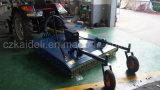 15-50 CV Tractor césped accionados de TDF Slasher con neumáticos Pneunatic