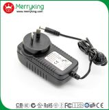 fiche blanche d'Au d'adaptateur d'alimentation de 12V3a AC/DC