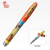 贅沢な金属のペンの販売法のロゴによってカスタマイズされる金属の万年筆