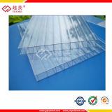 Doppelwand-Höhlung-Polycarbonat-Blätter für Gewächshaus Roofing &Canopy (YM-PC-011)