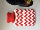 Coperchio di lavoro a maglia acrilico di disegno della banda di 100%