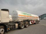 De GNL de saumon fumé de Lin du Lar Lco2 de carburant de camion-citerne bas de page chimique semi