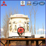 Minério de ferro/de minério/granito/pedra calcária do ouro triturador do cone com eficiência elevada