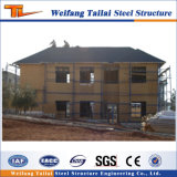 2018 Luz de Estrutura de aço galvanizado personalizados construindo casa prefabricadas