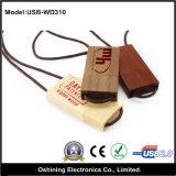 Bastone di legno rosso di memoria del USB (USB-WD310)