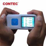 Contec Pm10 ЭКГ аппарат оснащен аккумулятором и сохраненных данных для платформы облачных вычислений