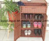 Gabinete de madeira Cx-Sc08 das sapatas da mobília Home moderna da sala de visitas
