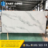 Artificial Calacatta Quartz Stone pour dalle / comptoir / Matériau de construction Whih Solid Surface