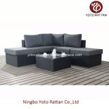 Piccolo Corner Sofa Set in Black (1301)