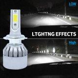 Indicatore luminoso dell'automobile di obbligazione del LED con l'indicatore luminoso automatico del faro di 7600lm LED e del lavoro del LED (H1 H3 H4 H7 H8 H9 H11 H13 9004 9005 9006 9007)