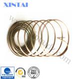 La norme ISO9001 Cercle ressort de compression en acier inoxydable avec une queue