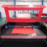 Auto máquina de estaca de alimentação do laser da tela