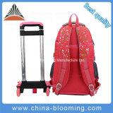 Kids Book Back to School Mochila Wheel Trolley Luggage Bag