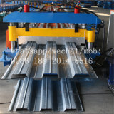 Sgs-Farben-Stahlfußboden-Plattform-Fliese, welche die Rolle bildet Maschine bildet