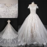 off Shoulder Beading Laces PROM Wedding Bridal Dress St7010