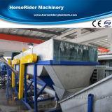 세척하는 HDPE 농업 필름 선 재생