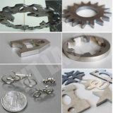 Работа металла волокна CNC обрабатывая лист металла изготовления отрезанный лазером тонкий от 1-5mm
